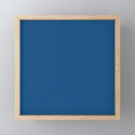 Classic Blue // Pantone 19-4052 TCX Framed Mini Art Print