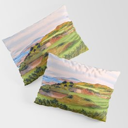Pacific Dunes Golf Course Oregon WA Hole 11 Pillow Sham