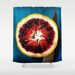Blood Orange Shower Curtain