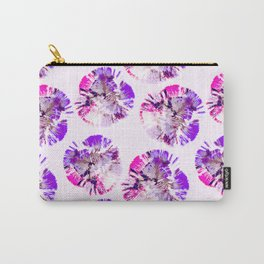Abstract pattern of purple circular shapes Carry-All Pouch
