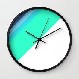 Diagonals Wall Clock