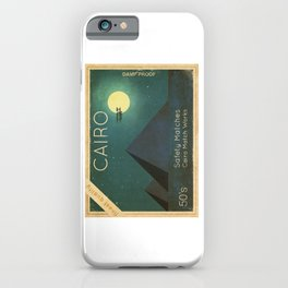 Cairo Safety Matches iPhone Case