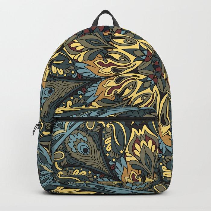Floral Ornament Backpack By Vetrakori Society6