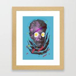 Chef Anthony, POP art style, digitally painted Framed Art Print