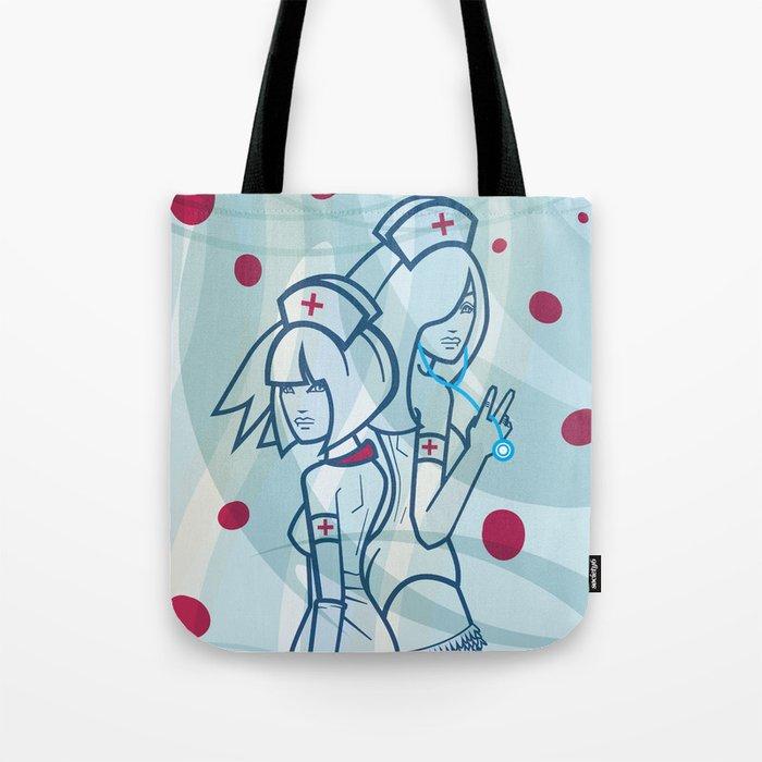 Y Nurses Tote Bag By Monoguru