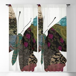 Butterfly Brocade II Blackout Curtain