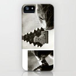 Cat Happy Christmas iPhone Case