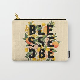 BLESSED BE LIGHT Carry-All Pouch