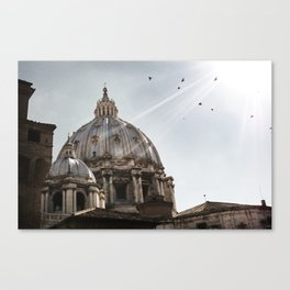 Basilica - Uncropped Canvas Print