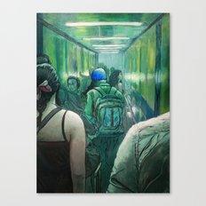 A Strange Quiet Canvas Print