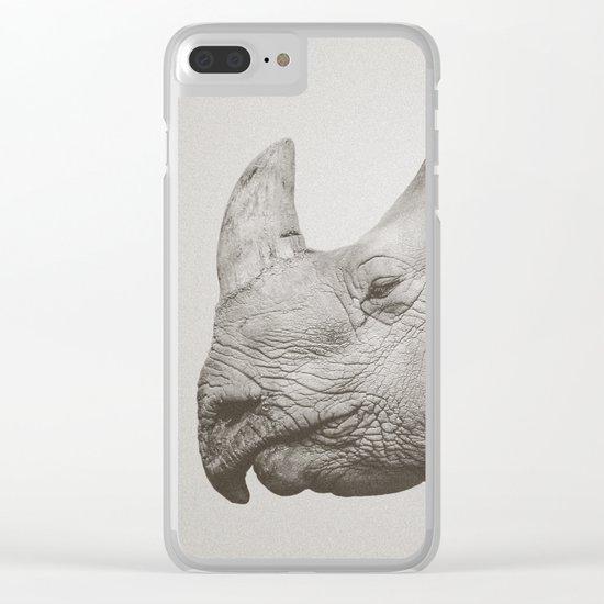 Rhino Photography | Warm Grey Clear iPhone Case