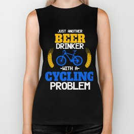 Beer Drinker Cycling Bicycle Cylist Bicycling BMX Bikers Exercise Workout Pedal Gift Biker Tank