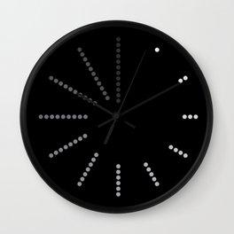 Dots Clock Wall Clock