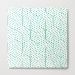 ZADA ((emerald green)) Metal Print