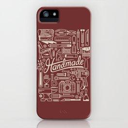 Make Handmade - Red iPhone Case