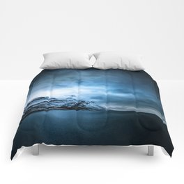 The Arctic - Storm Over Still Water Comforters