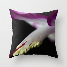 Christmas Cactus Ballet Throw Pillow