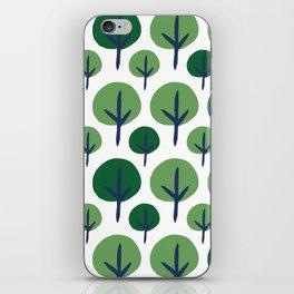 ROUND TREE iPhone Skin