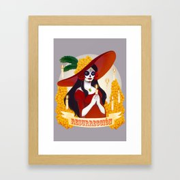 La Catrina: Resurreccion Framed Art Print