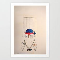STURD(y)P Art Print