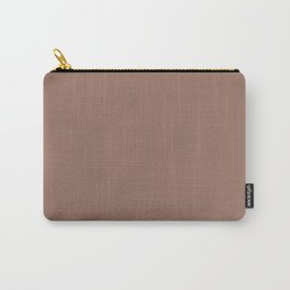 Chocolate Brown Carry-All Pouch