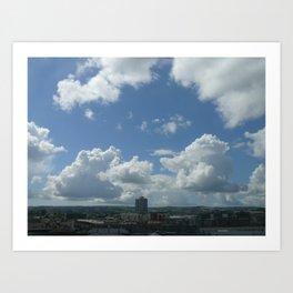 clouds Art Print
