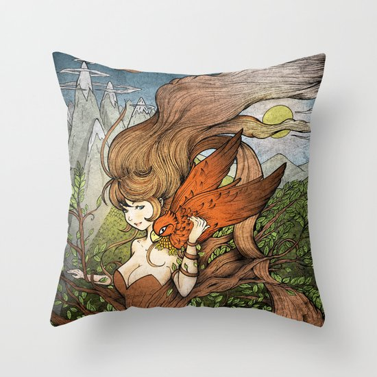 One Day so far Throw Pillow