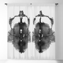 Form Ink Blot No. 12 Blackout Curtain