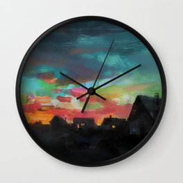 The Village Wall Clock