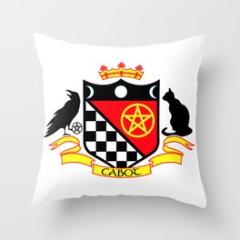 Cabot Crest Color Throw Pillow
