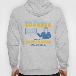 Mathematics Degree Grandpa Hoody