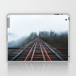 Abandoned Railroad Vance Creek Bridge - Olympic National Park, Washington Laptop & iPad Skin