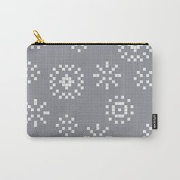 Winter Pattern Carry-All Pouch