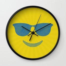 Summertime Shade Wall Clock