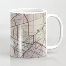 Vintage Map of Buffalo NY (1872) Coffee Mug