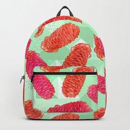Australian Native Floral Print - Beehive Ginger Backpack