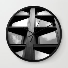 Diagonals Wall Clock
