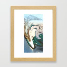 The Barely Muted Wrath of Oulixeus Framed Art Print