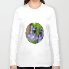drowning in the bluebell sea Long Sleeve T-shirt
