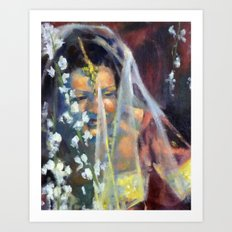 Sri Lankan Bride Art Print