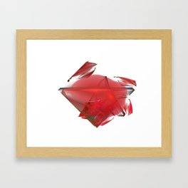 Kristall Framed Art Print
