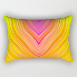 stripes wave pattern 3 stdi Rectangular Pillow
