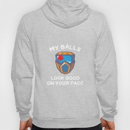 My Balls Look Good on Your Face Paintball T-Shirt Hoody
