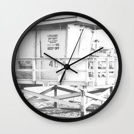 Life guard stand Wall Clock