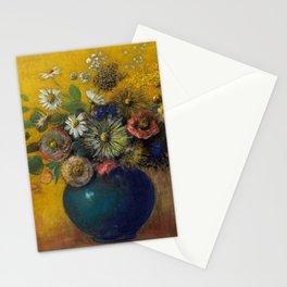 "Odilon Redon ""Bouquet of flowers"" (3) Stationery Cards"