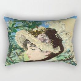 Manet's Jeanne Rectangular Pillow