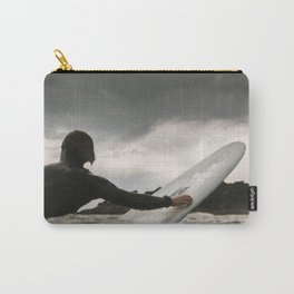 Surf grey photo Carry-All Pouch