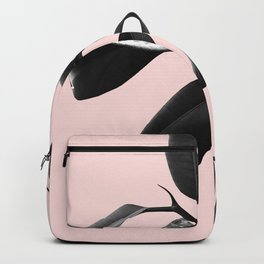 Ficus Elastica Blush Black & White Vibes #1 #foliage #decor #art #society6 Backpack