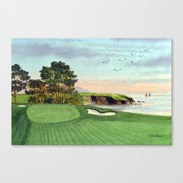 Pebble Beach Golf Course 5th Hole Canvas Print