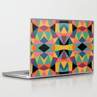 kaleidoscope Laptop & iPad Skins featuring Kaleidoscope by Andy Westface
